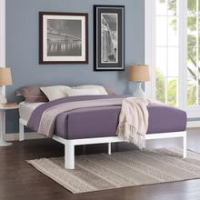View Product - Corinne Queen Bed Frame in White