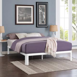 Product Image - Corinne Queen Bed Frame in White