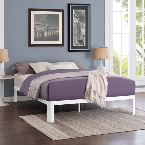 Modway - Corinne Queen Bed Frame in White
