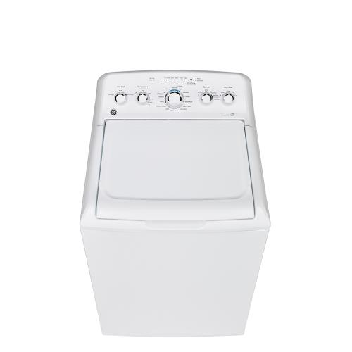 GE 5.0 Cu. Ft. (IEC) Top Load Washer with Stainless Steel Basket White - GTW560BMMWW