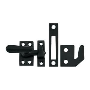 Deltana - Window Lock, Casement Fastener, Small - Paint Black