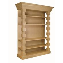 See Details - Euclid Block Bookcase