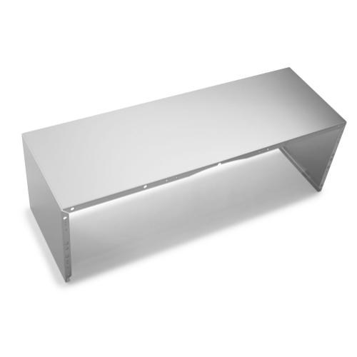 """Full Width Duct Cover - 36"""" Stainless Steel Stainless Steel"""
