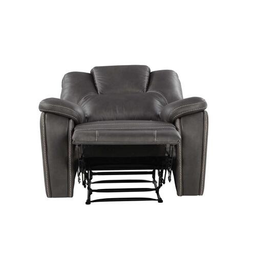 Katrine Manual Recliner Chair, Charcoal