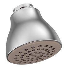 "Moen Chrome one-function 2-1/2"" diameter spray head eco-performance showerhead"