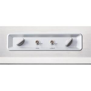 "UP27 - 36"" Stainless Steel Pro-Style Range Hood with internal/external blower options, 300 to 1650 Max CFM"
