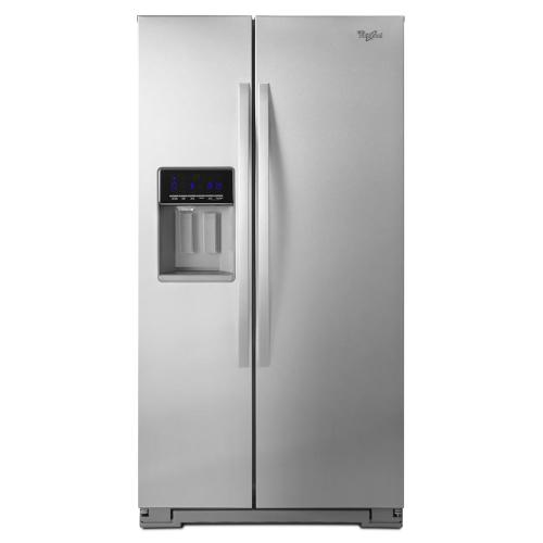 Whirlpool® 36-inch Wide Side-by-Side Refrigerator with Temperature Control - 26 cu. ft.