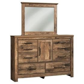 Blaneville Dresser and Mirror