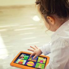 7-Inch Kids Tablet with 16 GB Storage (Orange)