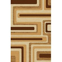 "Durable Flat Weave No Shedding Lifestyle 1000 Area Rug by Rug Factory Plus - 5'4"" x 7'5"" / Beige"