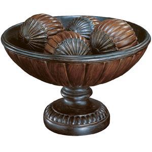 "Table Top - Dark Bronze/ant. Gold, 7.75""HX12.50""W"