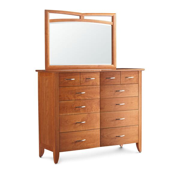 Monarch Bureau Mirror, Medium