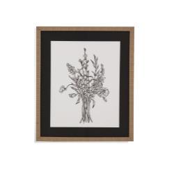 Black & White Bouquet IV