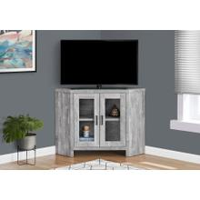 "TV STAND - 42""L / GREY RECLAIMED WOOD-LOOK CORNER"
