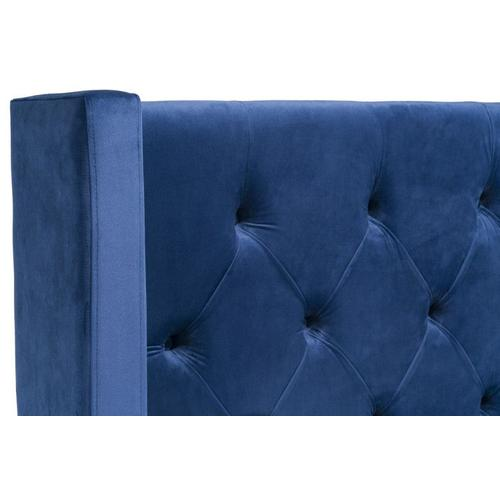 Westerly King Upholstered Bed, Blue