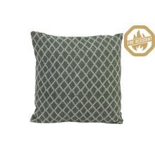 "66826076FR - HONEY Geometric Pillow Drk Green+Natural, Poly Fill, 20""x20"""