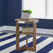 View Product - Round Chair Side Table