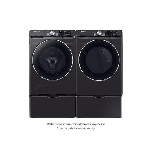 4.5 cu. ft. Smart Front Load Washer with Super Speed in Black Stainless Steel