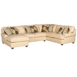 Henson LAF One Arm Chaise, Henson Armless Loveseat, Henson RAF Corner Sofa