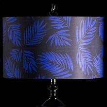 BLUE PALM MIXOLOGY SHADE  LARGE  11in X 19in  Available in three sizes this lighting collection