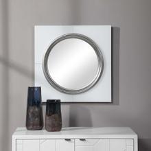 Gouveia White Square Mirror