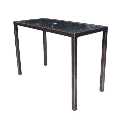 """Chorus 62"""" x 28"""" Rectangular Bar Table"""