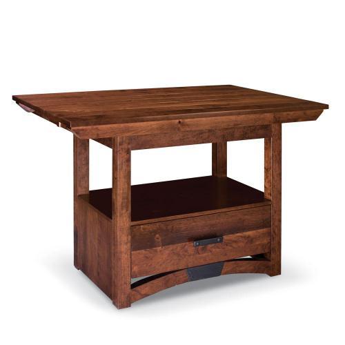 Simply Amish - B&O Railroad Trestle Bridge Island Table