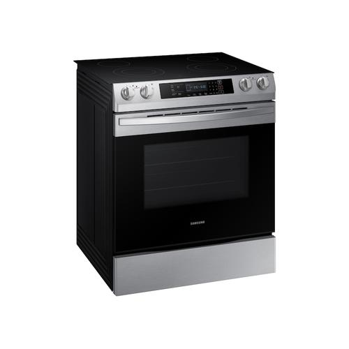 5.8 cu. ft. 4 Element Slide-in Electric Range in Stainless Steel