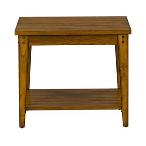 Liberty Furniture Industries - Square Lamp Table