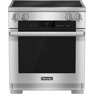 MieleHR 1622 30 inch range Induction with M Touch controls, Moisture Plus and wireless roast probe