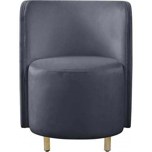 "Rotunda Accent Velvet Chair - 25"" W x 24"" D x 32"" H"