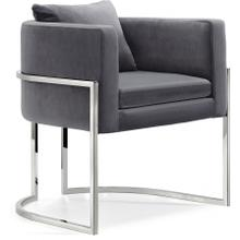 "Pippa Velvet Accent Chair - 30"" W x 30"" D x 29"" H"