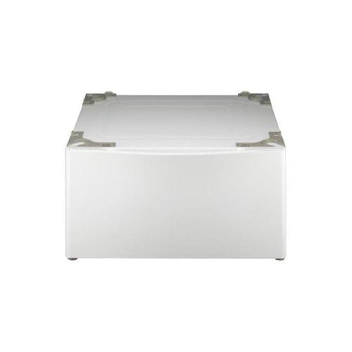 Laundry Pedestal - White