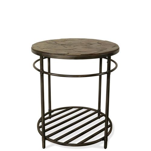 Hillcrest - Round Side Table - Cardamom Finish
