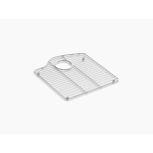"""Stainless Steel 15-5/16"""" X 16-7/8"""" Stainless Steel Sink Rack, for Right Bowl"""