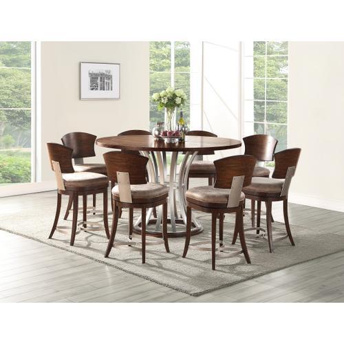 Emerald Home Oxford Hills Round Gathering Table Pedestal Base-d431-16base