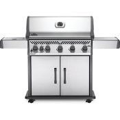 Rogue XT 625 SIB with Infrared Side Burner and Smoker Box , Stainless Steel , Natural Gas