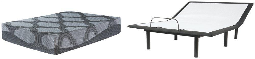 Bonita Springs Firm Queen Hybrid Mattress With Adjustable Base