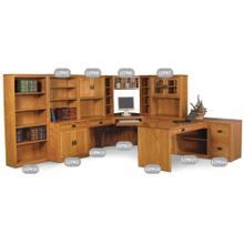 See Details - Prairie Mission Bookcase Unit #10