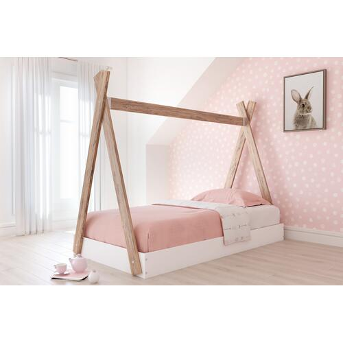 Signature Design By Ashley - Piperton Twin Tent Complete Bed In Box