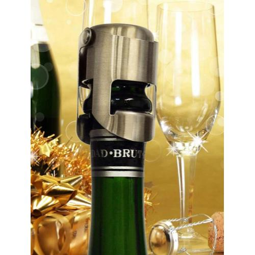 Epicureanist Stainless Champagne Stopper