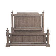 Crestmont King Poster Headboard in Brown