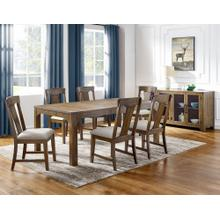 "Laramie Dining Table w Leaf 60""-78""x41.75""x30"""