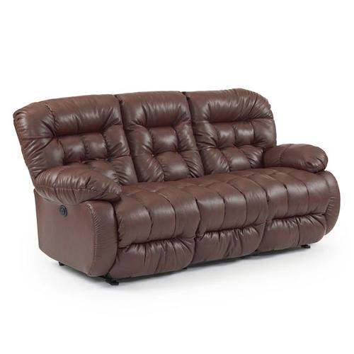 PLUSHER COLL. Space Saver Reclining Sofa