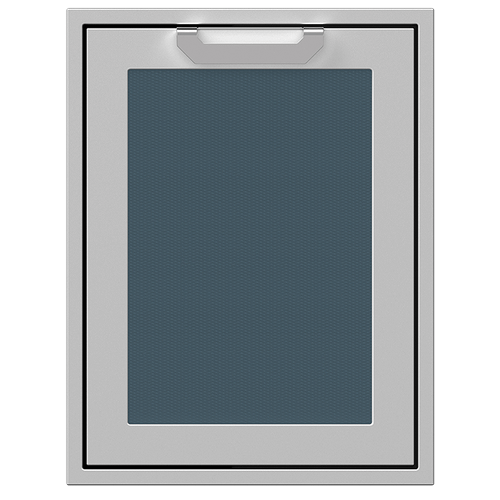 """20"""" Hestan Outdoor Trash/Recycle Drawer - AGTRC Series - Pacific-fog"""