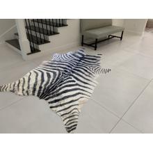 Vegan Zebra Print Hide - Zebra Vegan Hide