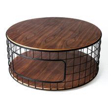 Wireframe Coffee Table Walnut