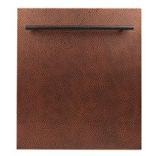 24 in. Top Control Dishwasher in Hand-Hammered Copper with Stainless Steel Tub and Modern Style Handle