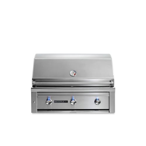 "36"" Sedona by Lynx Built In Grill with 2 Stainless Steel Burners and ProSear Burner, LP"