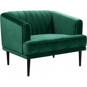"""Rory Velvet Chair - 38"""" W x 32.5"""" D x 29.5"""" H"""